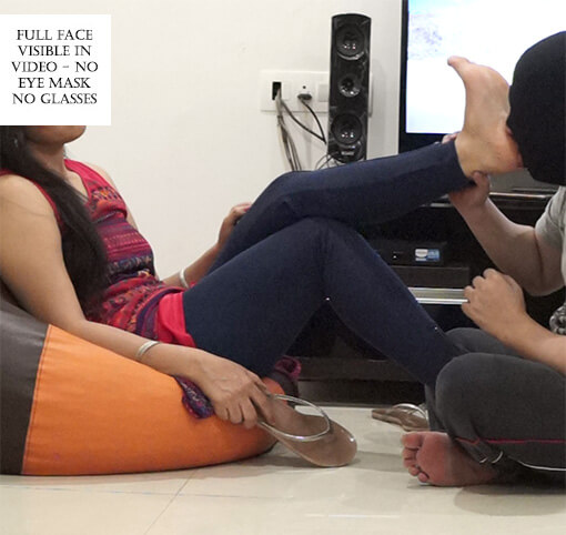 Foot Fetish – Boyfriend Caught With Camera In Room Part 2