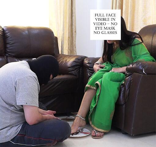 Feet Feeding Femdom – Bhabhi Caught Dewar Stealing Money Part 4