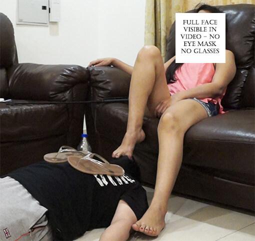 Foot Sucking – Rude Delivery Boy Part 3