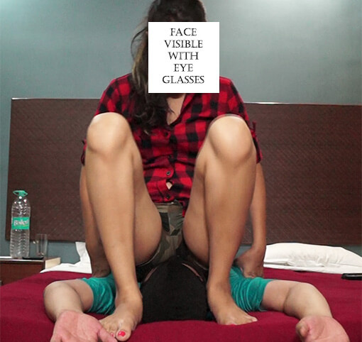 Face Smothering – Full Weight Face Sitting in Tight Military Shorts